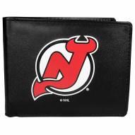 New Jersey Devils Large Logo Bi-fold Wallet