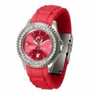 New Jersey Devils Sparkle Women's Watch