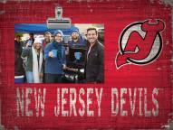 New Jersey Devils Team Name Clip Frame