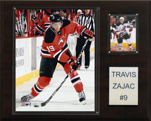 "New Jersey Devils Travis Zajac 12"" x 15"" Player Plaque"