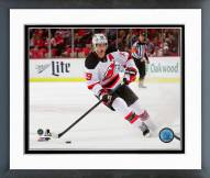 New Jersey Devils Travis Zajac Action Framed Photo
