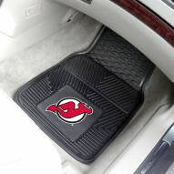New Jersey Devils Vinyl 2-Piece Car Floor Mats