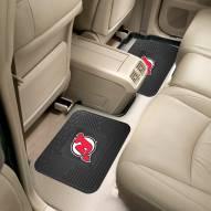 New Jersey Devils Vinyl 2-Piece Rear Floor Mats