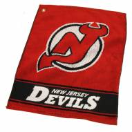 New Jersey Devils Woven Golf Towel