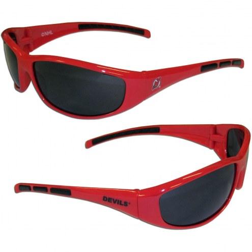 New Jersey Devils Wrap Sunglasses