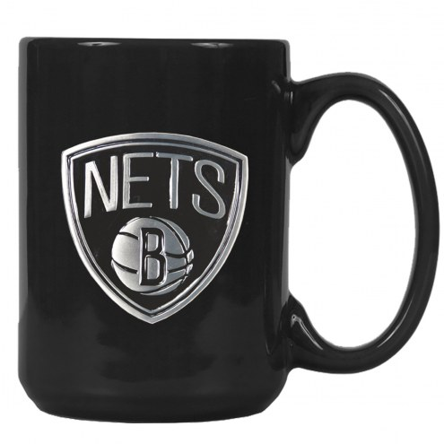 New Jersey Nets NBA 2-Piece Ceramic Coffee Mug Set