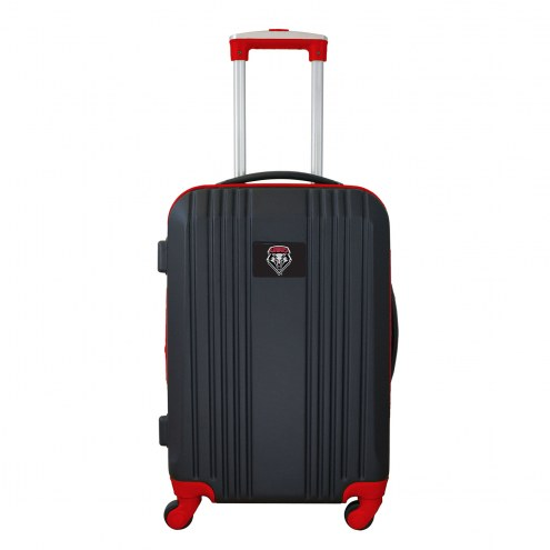 "New Mexico Lobos 21"" Hardcase Luggage Carry-on Spinner"