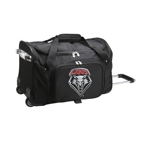 "New Mexico Lobos 22"" Rolling Duffle Bag"