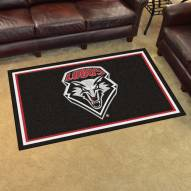 New Mexico Lobos 4' x 6' Area Rug