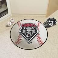 New Mexico Lobos Baseball Rug