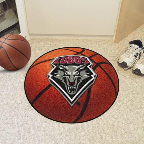 New Mexico Lobos Basketball Mat
