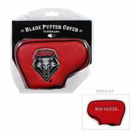 New Mexico Lobos Blade Putter Headcover