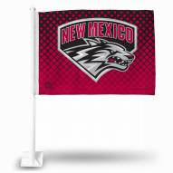 New Mexico Lobos Car Flag