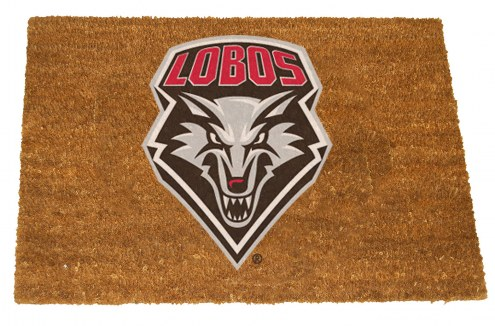 New Mexico Lobos Colored Logo Door Mat