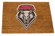 New Mexico Lobos Colored Logo Door Mat