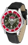 New Mexico Lobos Competitor AnoChrome Men's Watch - Color Bezel