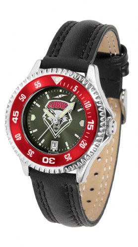 New Mexico Lobos Competitor AnoChrome Women's Watch - Color Bezel