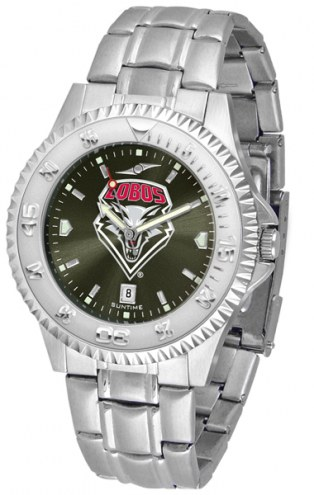 New Mexico Lobos Competitor Steel AnoChrome Men's Watch
