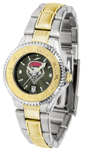 New Mexico Lobos Competitor Two-Tone AnoChrome Women's Watch