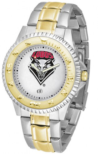 New Mexico Lobos Competitor Two-Tone Men's Watch