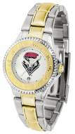 New Mexico Lobos Competitor Two-Tone Women's Watch