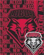 New Mexico Lobos Double Play Woven Throw Blanket