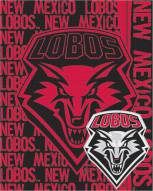 New Mexico Lobos Double Play Woven Throw Blanket