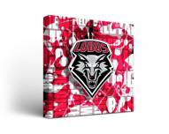 New Mexico Lobos Fight Song Canvas Wall Art
