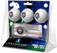 New Mexico Lobos Golf Ball Gift Pack with Kool Tool