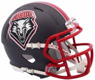New Mexico Lobos Riddell Speed Mini Collectible Football Helmet
