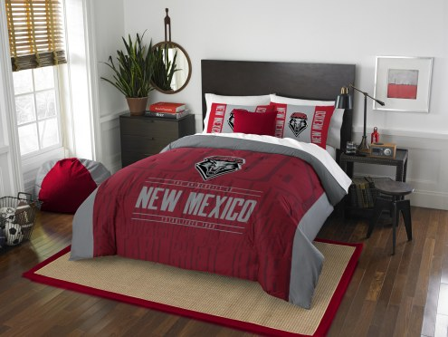 New Mexico Lobos Modern Take Full/Queen Comforter Set