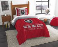 New Mexico Lobos Modern Take Twin Comforter Set