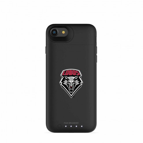 New Mexico Lobos mophie iPhone 8/7 Juice Pack Air Black Case