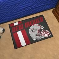 New Mexico Lobos NCAA Starter Rug