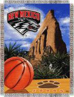 New Mexico Lobos NCAA Woven Tapestry Throw Blanket