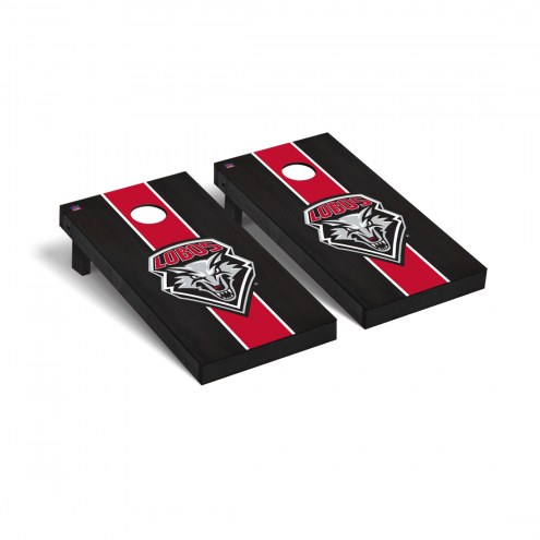 New Mexico Lobos Onyx Stained Cornhole Game Set
