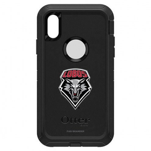New Mexico Lobos OtterBox iPhone XR Defender Black Case