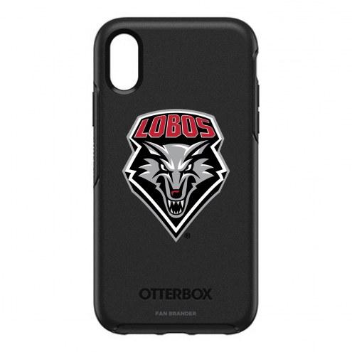 New Mexico Lobos OtterBox iPhone XR Symmetry Black Case