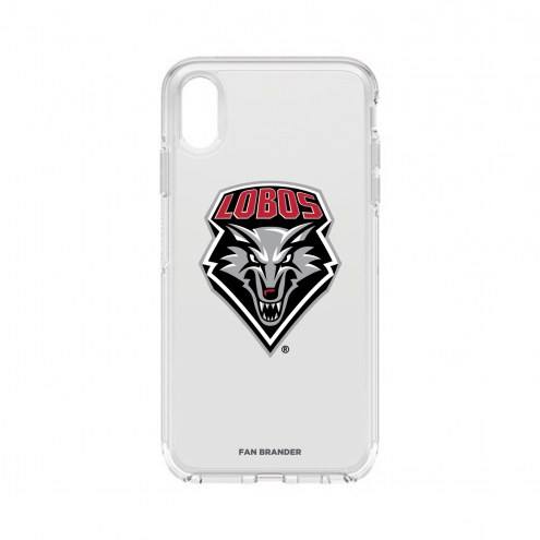 New Mexico Lobos OtterBox iPhone XS Max Symmetry Clear Case