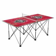 New Mexico Lobos Pop Up 6' Ping Pong Table