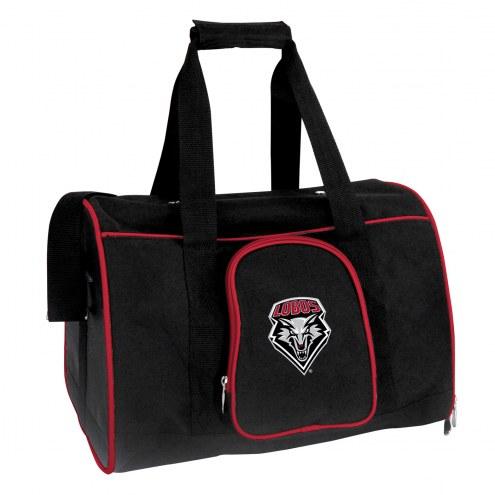 New Mexico Lobos Premium Pet Carrier Bag