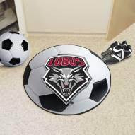 New Mexico Lobos Soccer Ball Mat