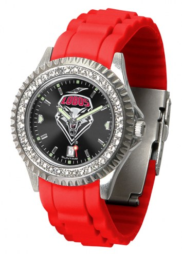 New Mexico Lobos Sparkle Women's Watch