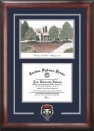 New Mexico Lobos Spirit Graduate Diploma Frame