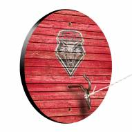 New Mexico Lobos Weathered Design Hook & Ring Game