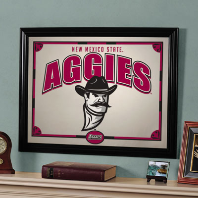 "New Mexico State Aggies 23"" x 18"" Mirror"
