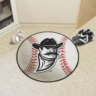 New Mexico State Aggies Baseball Rug