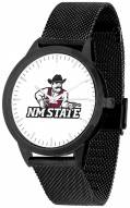 New Mexico State Aggies Black Mesh Statement Watch