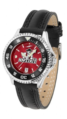 New Mexico State Aggies Competitor AnoChrome Women's Watch - Color Bezel