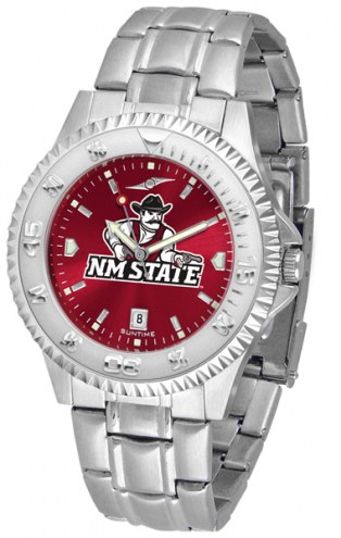 New Mexico State Aggies Competitor Steel AnoChrome Men's Watch